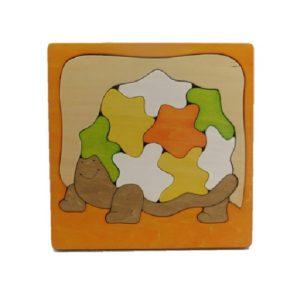 かめパズル橙(P-010-007-o)