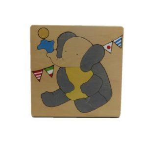 ゾウさんパズル(P-010-003)
