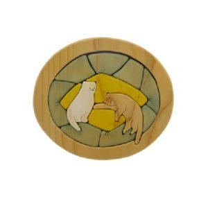 ねこパズル(P-015-002-y)