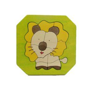ライオンパズル (P-010-001)