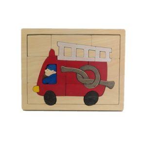 消防車パズル(P-016-002)